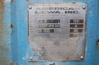 image for: American Lewa Metering Positive Displacement Pump ES-3