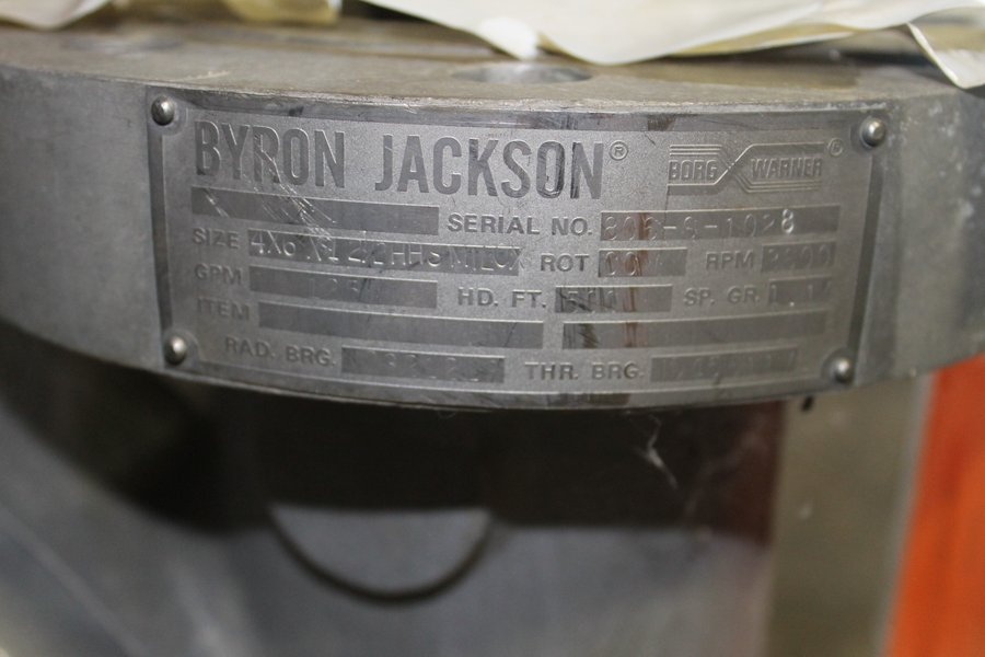 buy used process equipmentuniversal industrial assets rh universal ia com Byron Jackson Dvmx Pumps byron jackson pump manual hsb