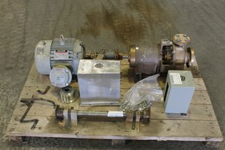 Carver ANSI Centrifugal Pump Type LP-M-54203 Size 1.5 x 1-8