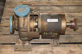 Carver Pump Co. ANSI Centrifugal Pump Type LP-M-54203 Size 1.5 x 1-8, GPM 6