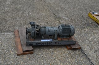 "image for: Duriron Co Model PP-3116 A Centrifugal Pump, RPM 3600, 1 1/2"" x1"", HP 5,  durco"