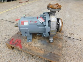 "image for: Flowserve Durco Mag Drive Centrifugal Pump KG3X2-10A/93RV D4, CF8M 3"" x 2"""
