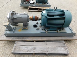 image for: Flowserve Durco Mag Drive Centrifugal Pump LH2X1-10A Reliance 40 HP Motor
