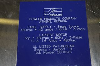 image for: Fowler Panel Supply for Capper