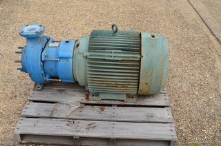 "image for: Goulds Model #3298 Centrifugal Pump 3""x4"" RPM 3600, HP 75, GPM 380, Teflon Lined"