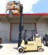 Hyster LP Gas Propane Forklift S120 W/ Cascade Paper Roll Clamp 5850# Capacity 3 Stage #48