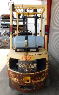 "image for: Hyster LP Gas Propane Forklift S45, 4500# Load 2 Stage 42"" Forks  #172"