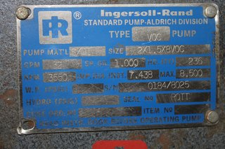 image for: Ingersoll-Rand VOC Pump