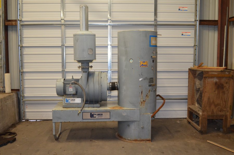 Industrial Blower Systems : Buy used process equipmentuniversal industrial assets