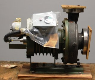 "Lawrence A1HC-MJ Centrifugal Pump 3"" x 2"" 120 GPM 316 SS 3 HP Electric Motor"