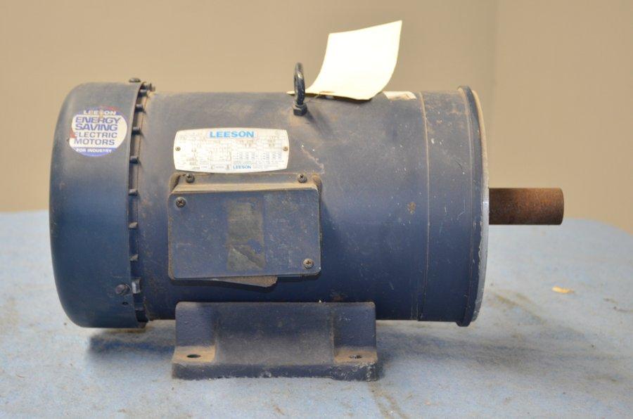 Leeson 7 5 Hp Frame Ls231tc Electric Motor Electric Motors