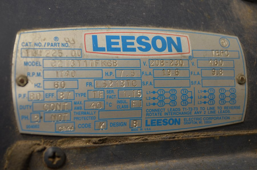 Leeson Electric Motors Distributors