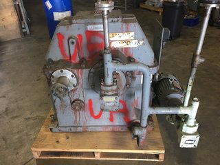 Lufkin N1400C Gearbox 3.541:1 Ratio W/ Baldor 2 HP Motor & IMO Pump Gear Box