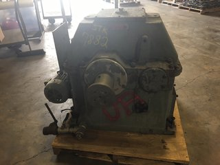 image for: Lufkin N1400C Gearbox 3.541:1 Ratio W/ Baldor 2 HP Motor & IMO Pump Gear Box