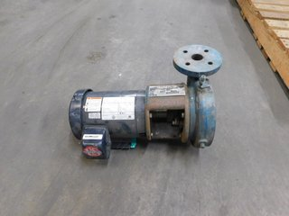 Mueller 1.5G-10P14 Horizontal Close Coupled End Suction Pump 42 GPM 30 ft. hd