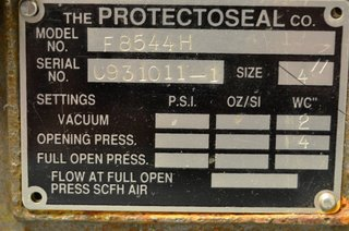 image for: Protectoseal Tank Vent Model F8544H Size 4""
