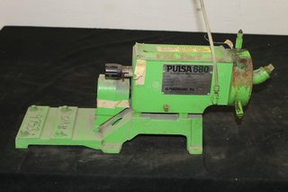 Pulsafeeder 680 Diaphragm Metering Pump 40:1 Gear Ratio 9.2 GPH Pulsa