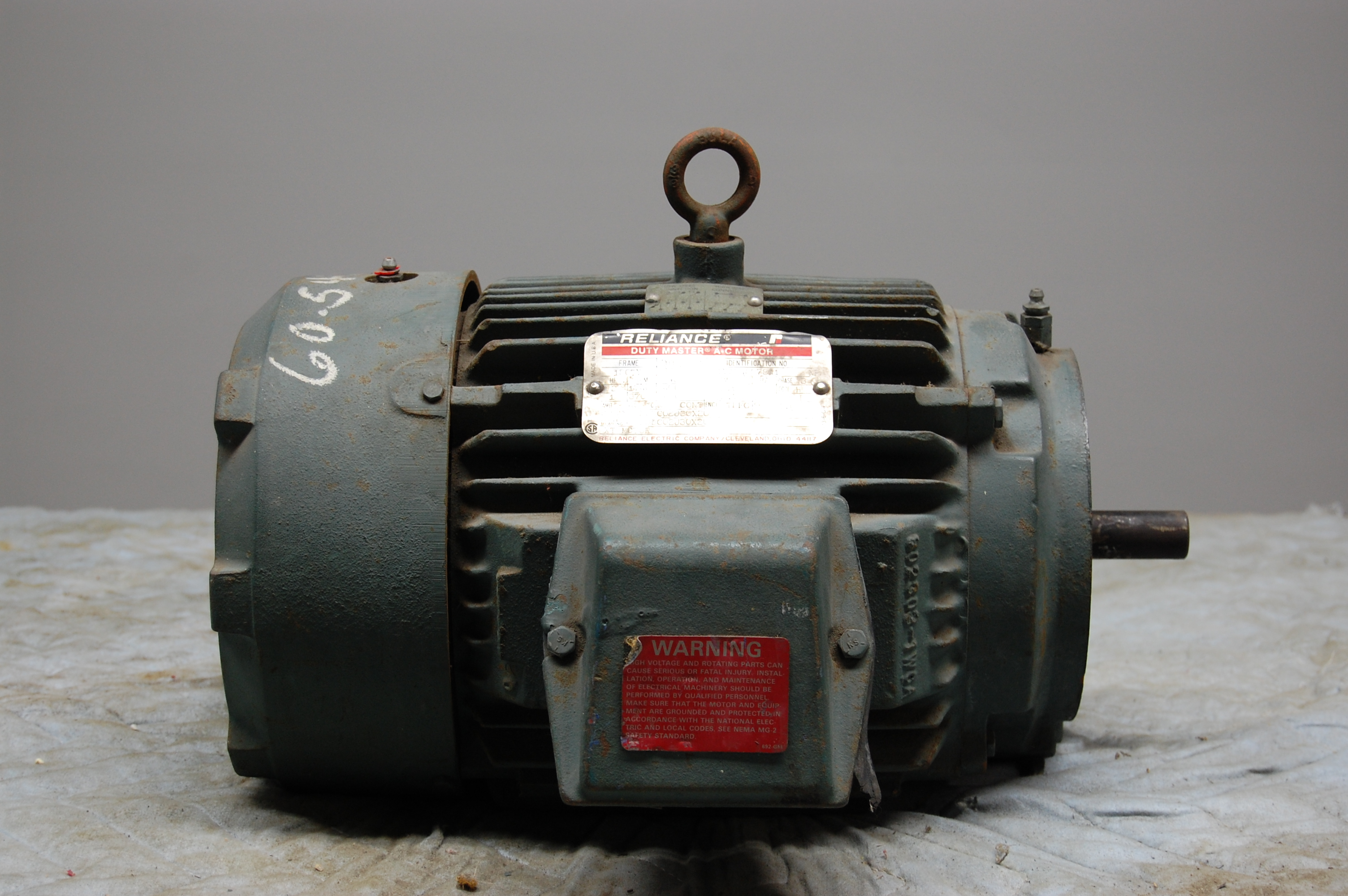 Electric Motors Reliance 2 Hp Electric Motor Frame 180ty