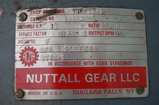 image for: Reliance Nuttall Gear Combination