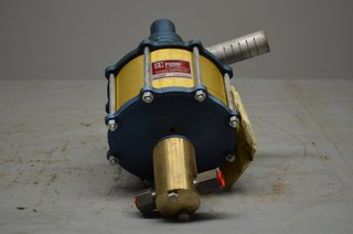 S C Hydraulic Engineering Air Powered Pump Model 10-600 30