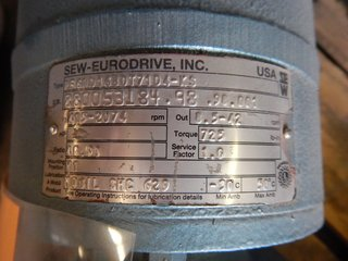 image for: Sew Eurodrive Gearbox Type: RF60D16BDT71D4-KS with Motor Gear Box