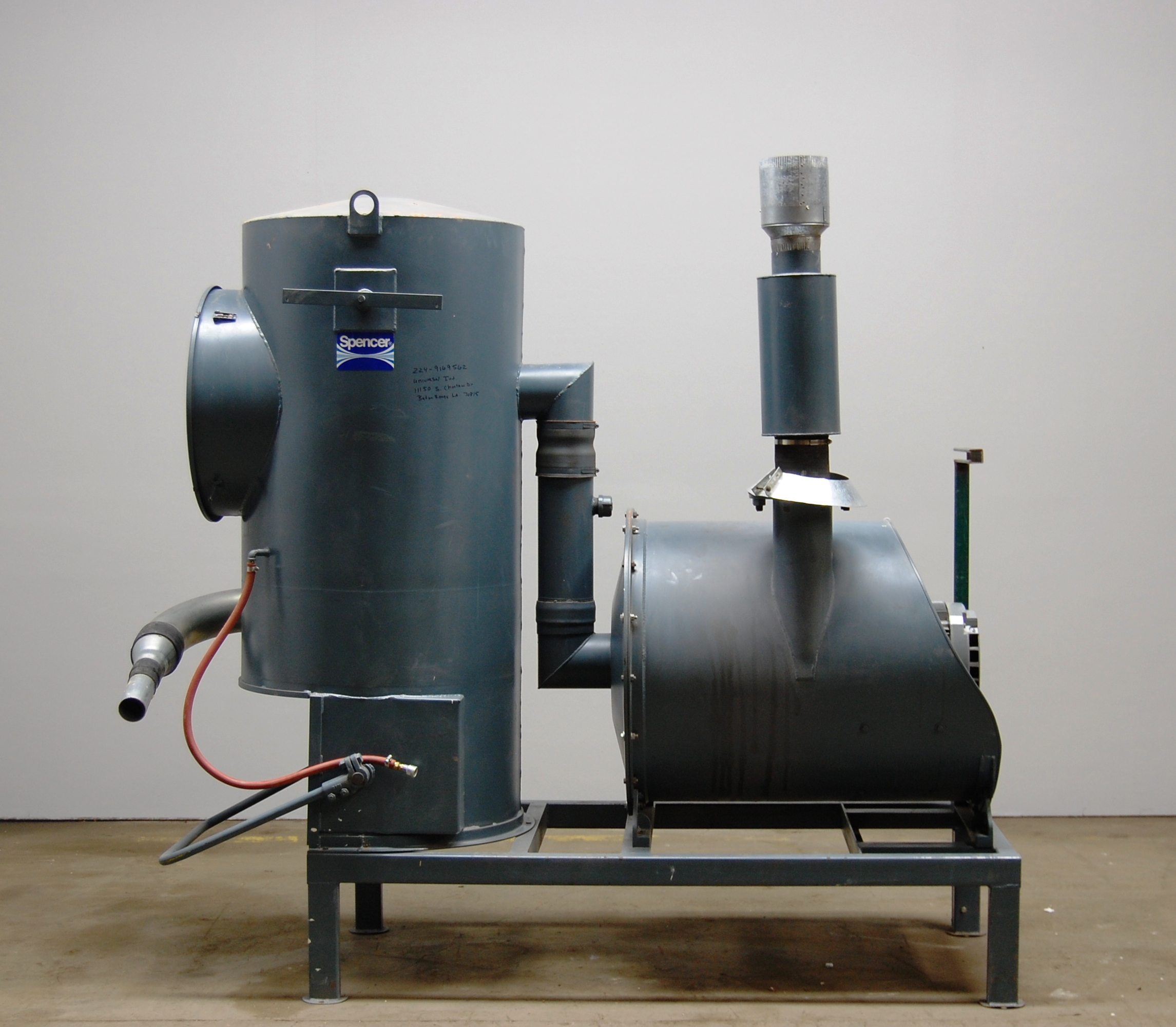 Blowers and Vacuum Pumps: Spencer Clean Room Vacuum System S 825  #604930