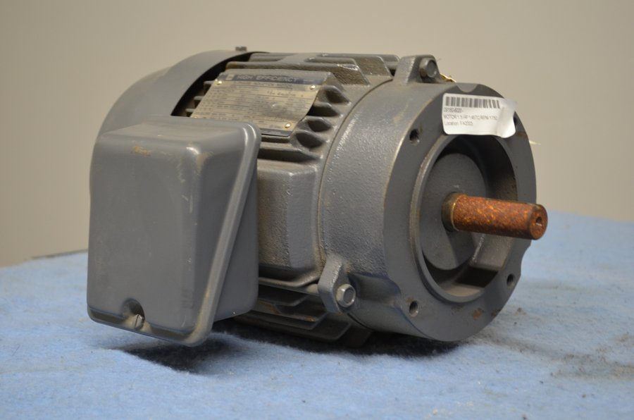 Toshiba 1 5 Hp Frame 145tc Electric Motor Electric Motors By154fgc2aa Ebay
