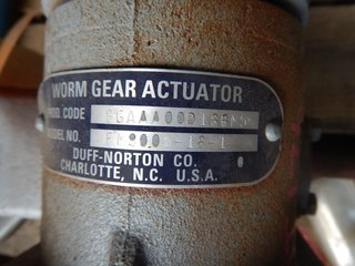 image for: Worm Gear Actuator