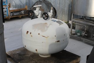 Young Engineering Manufacturing Tank Model 40MBA-50 Size 40 Gal